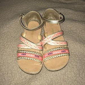 Girls sandals size 10